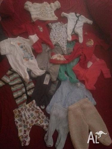 00000 bulk lot baby clothing (Small Newborn/Premmie)