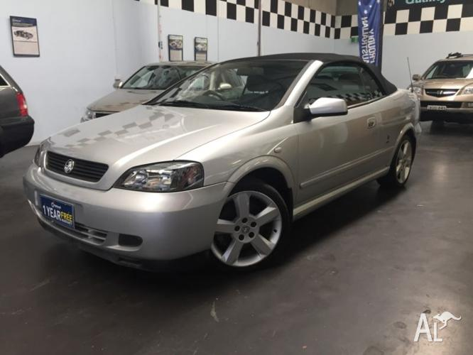 03 Astra Holden Turbo, Leather Interior, Convertible