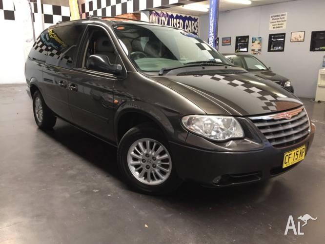 07 Chrysler Grand Voyager luxury, Top of the Range,