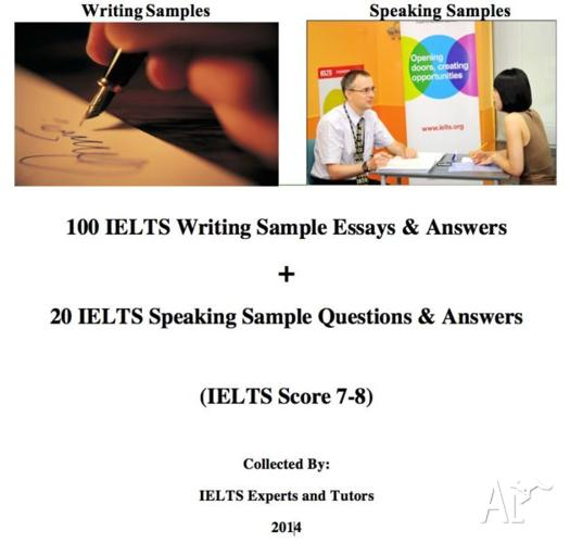 100 IELTS Writing Sample Essays+20 Speaking Questions