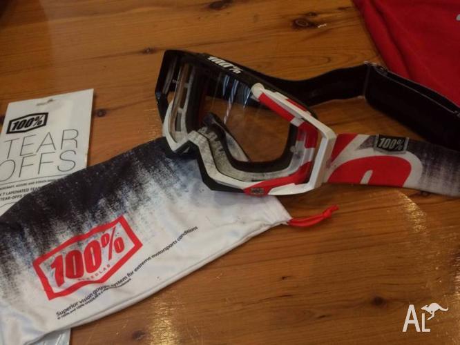 100% LTD Racecraft Goggles