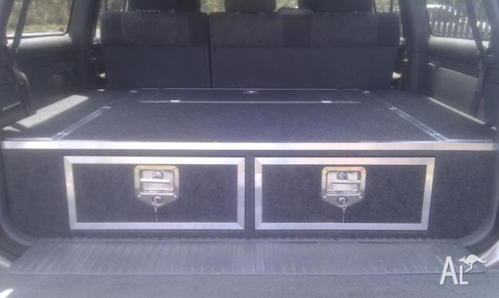 100 series landcruiser rear drawer system