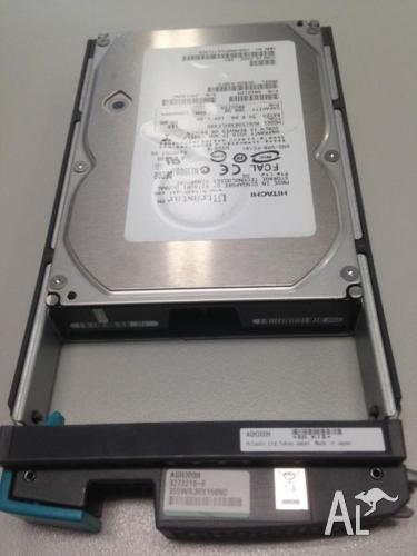 10 of Hitachi 300GB 15K RPM Fiber Channel Server HDD