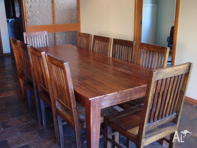 10 seater dining table chairs for sale in cherrybrook for 10 seater table for sale