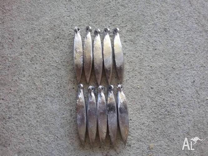 10 size 10 snapper sinkers