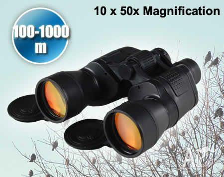 10 x 50x Magnification 100 / 1000m Binoculars
