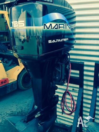 135hp Mariner XL Saltwater series