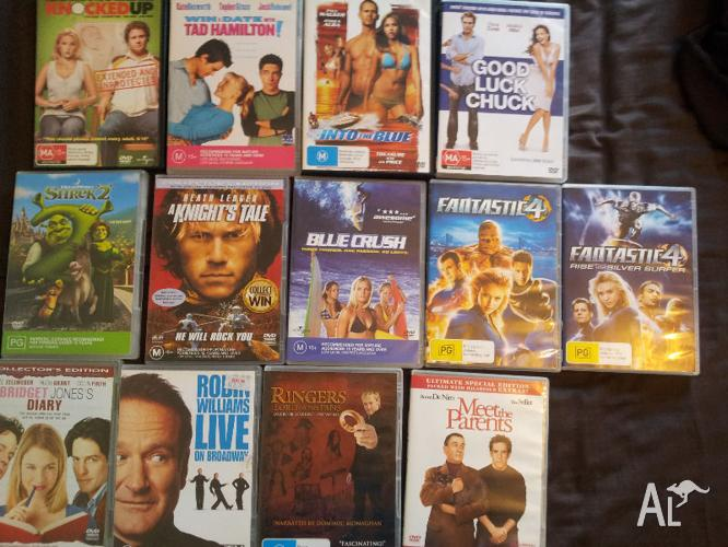 13 DVDs $4 each or $40 the lot