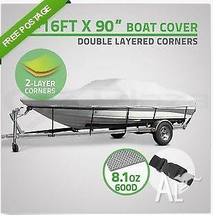 14-16ft Trailerable Boat Cover