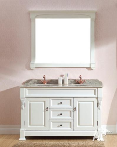 1400mm Traditional Vanities Granite Top White Timber Vanity For Sale In Brisbane Queensland