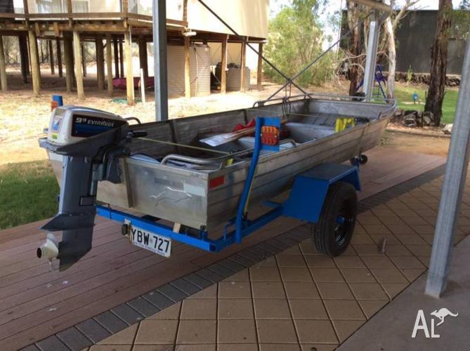 14ft Dolphin Aluminum Boat