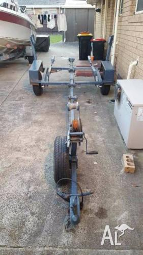 14ft Dunbier Boat Trailer
