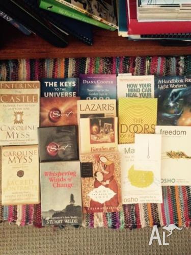 15 spiritual books & DVD
