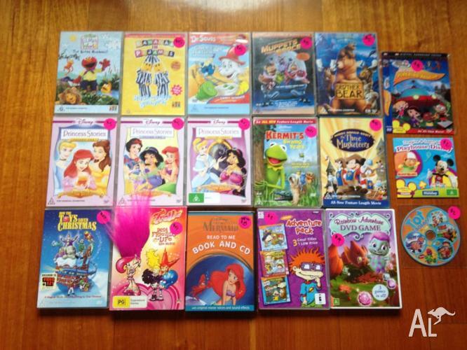 15 x Various DVD's/1 x CD/! x DVD Game 1 X PC Game