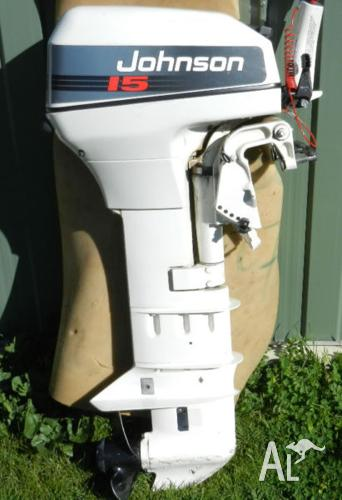 15hp Johnson Outboard