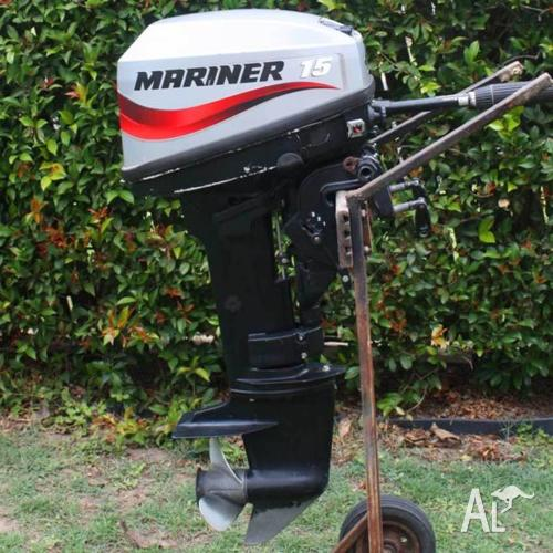 15hp Mariner Outboard Motor For Sale In Abbotsford