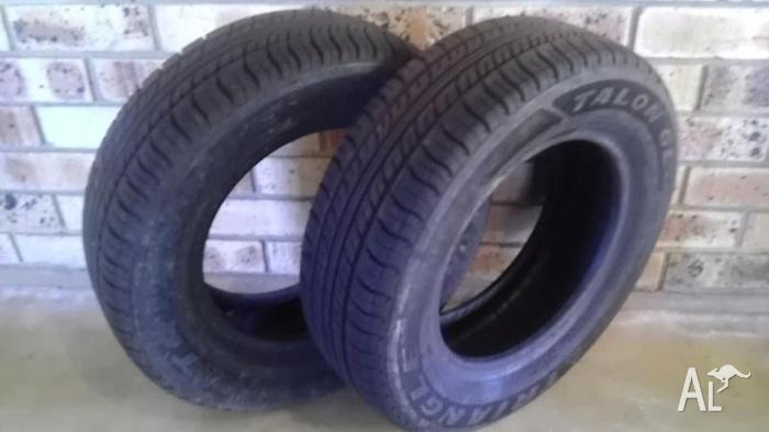 175/70/13 x 2 Small car tyres