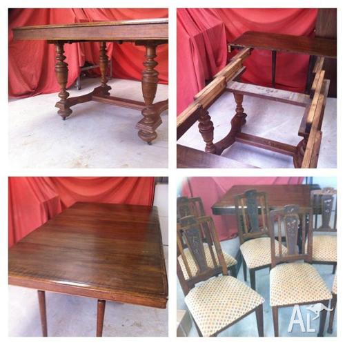 1890's Extendable Card/Dining Table