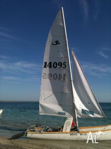 18 foot Hobie racing sailing catamaran MUST GO! for Sale ...