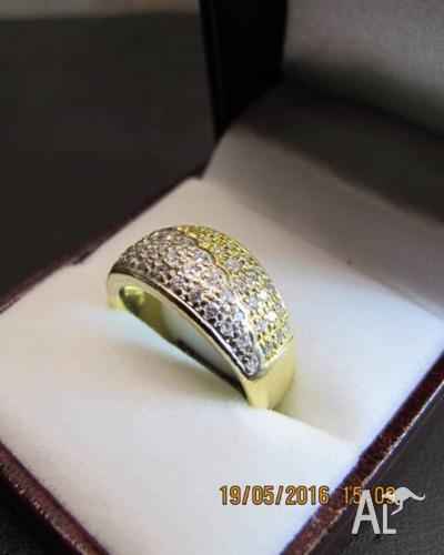 18ct 58 Diamond Ring SI1 G/H Valued at $3200