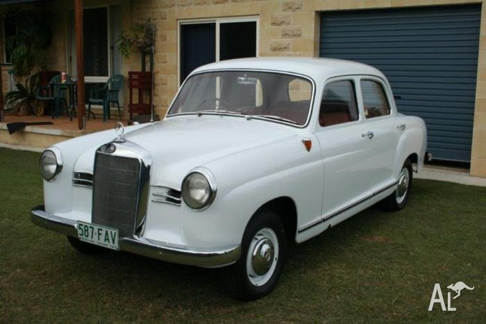 1955 mercedes benz 180d sedan for sale in abbotsford for Mercedes benz 180d for sale