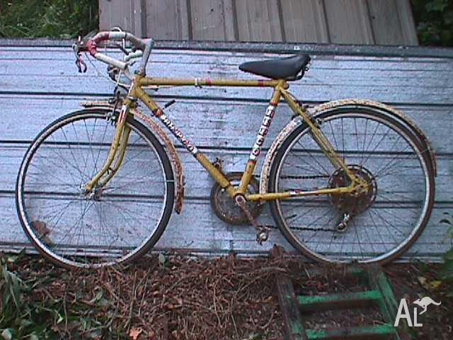 1960's Old Repco, 5 speed 24 inch Racing Bike