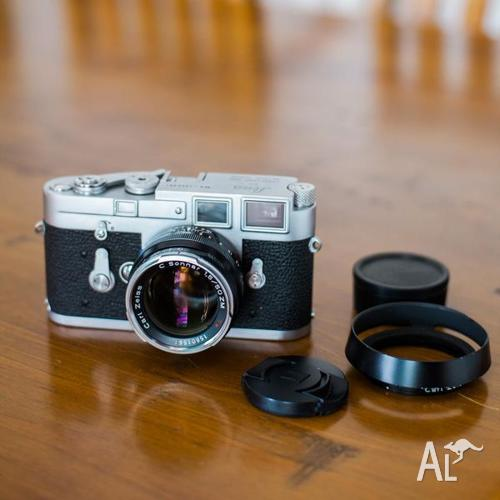 1961 Leica M3 SS 1m+ serial with Zeiss C Sonnar 50mm f1 5