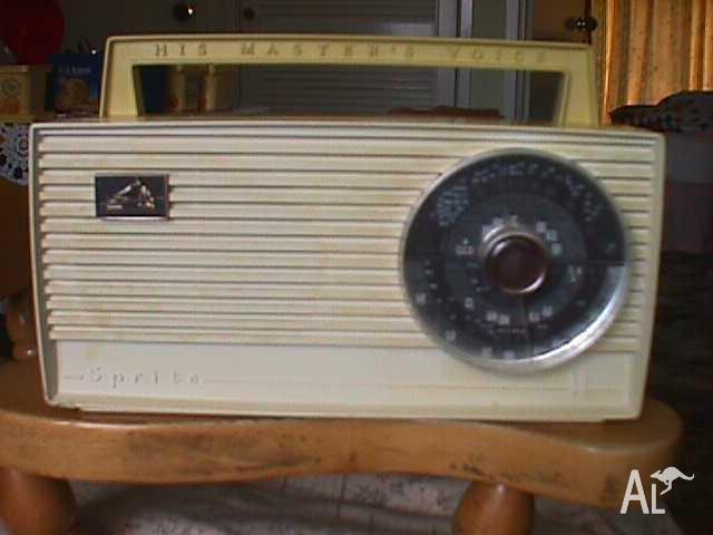 1964, HMV - Sprite Transistor Radio