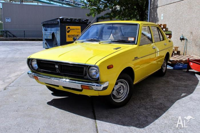 1975 toyota corolla sedan for sale in eltham victoria classified. Black Bedroom Furniture Sets. Home Design Ideas