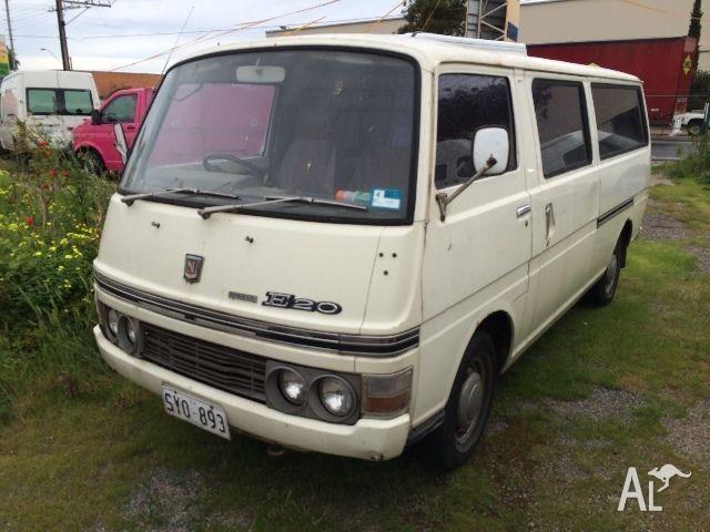 1976 nissan e20 van minivan datsun for sale in woodville south australia classified. Black Bedroom Furniture Sets. Home Design Ideas