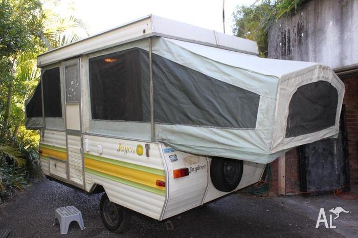 1985 Jayco Dove Pop Top Caravan For Sale In The Gap