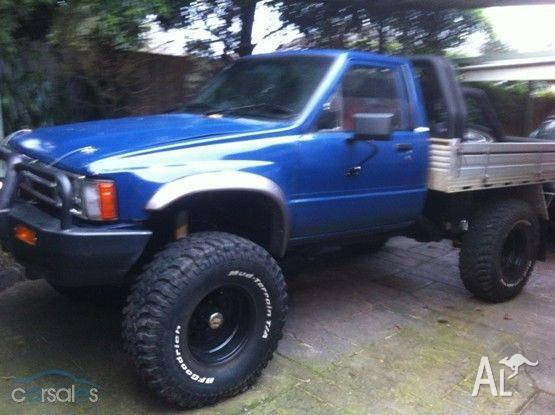 1985 toyota hilux ute for sale in mount waverley victoria classified. Black Bedroom Furniture Sets. Home Design Ideas