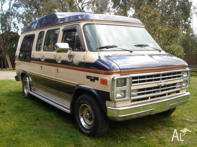 1986 chevrolet g20 luxury van for sale in beaconsfield. Black Bedroom Furniture Sets. Home Design Ideas