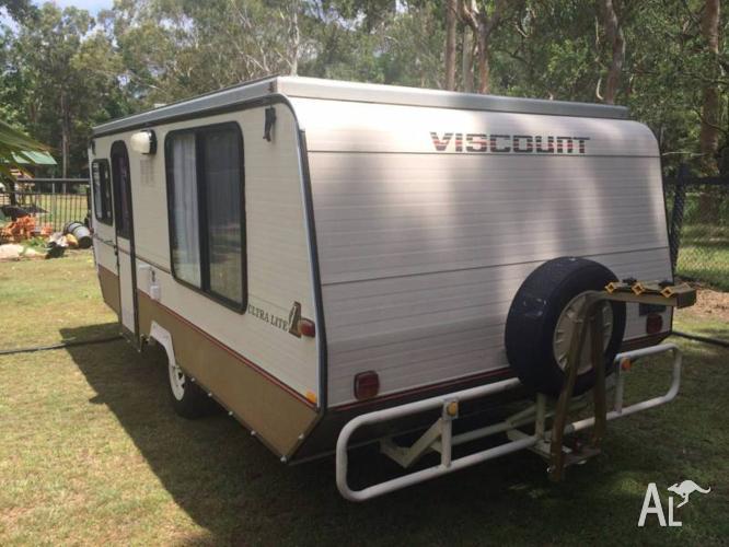 1987 Viscount Pop Top 16' Caravan