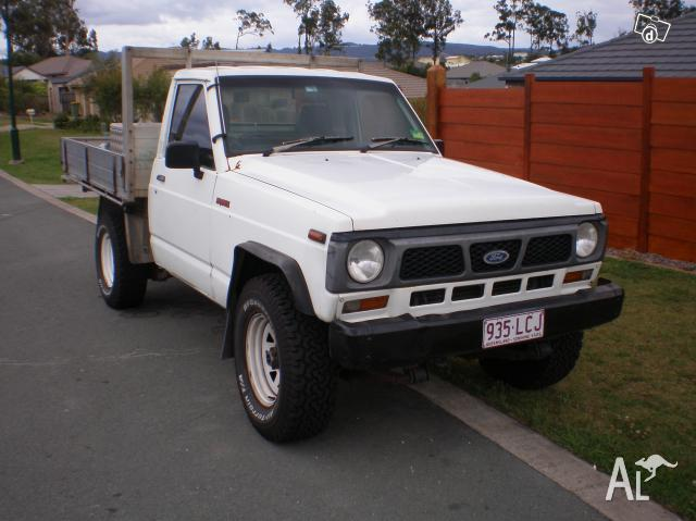 1988 ford maverick ute 205000 kms 4x4 for sale in ormeau queensland classified. Black Bedroom Furniture Sets. Home Design Ideas