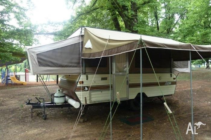 1988 Jayco Swan Outback Camper Trailer