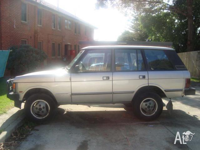 1989 Range Rover Voge -10