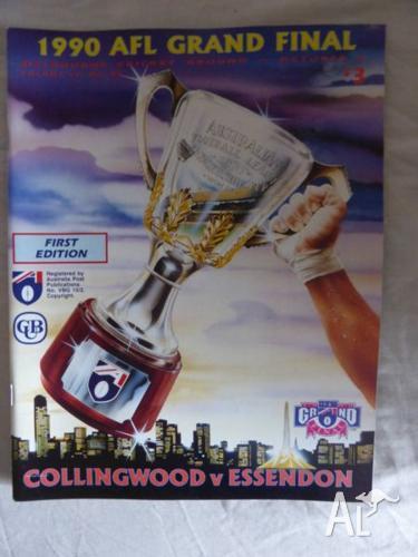 1990 AFL Grand Final Football Record Collingwood vs