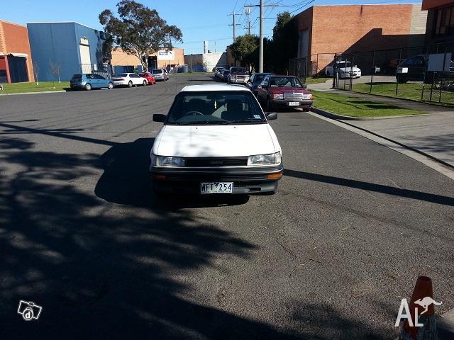 1991 Toyota Corolla Sedan 1 yr Reg RWC Drive away