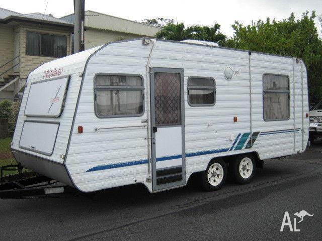 1995 Windsor Sunchaser 18' Caravan