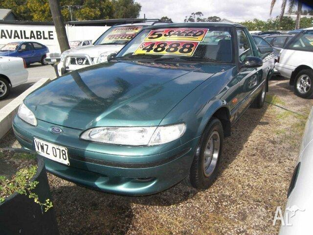 1996 ford falcon xg gli longreach green 5 speed manual utility for rh clearview australialisted com ford falcon gli 1996 manual 1997 Ford Falcon