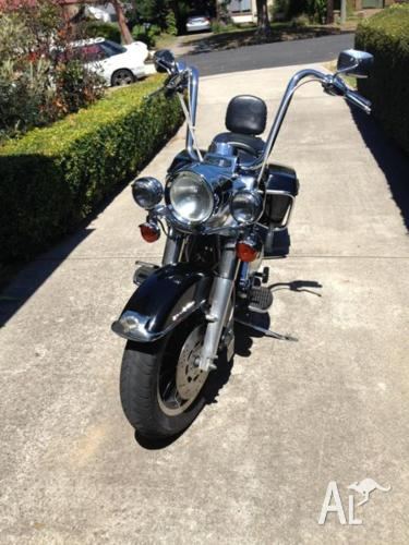 1996 HARLEY DAVIDSON ROAD KING WITH EXTRA'S