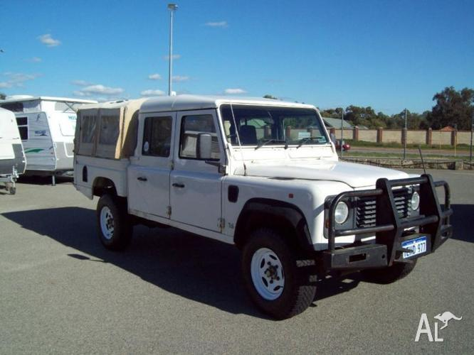 1996 Land Rover Defender 130 Crewcab Ute ONE OWNER for Sale in ...