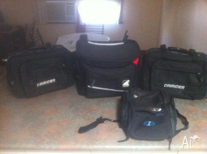 1998 Suzuki 250 Road bike Bags