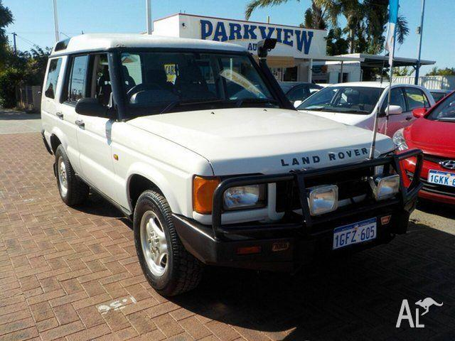 1999 Land Rover Discovery II Td5 White 4 Speed