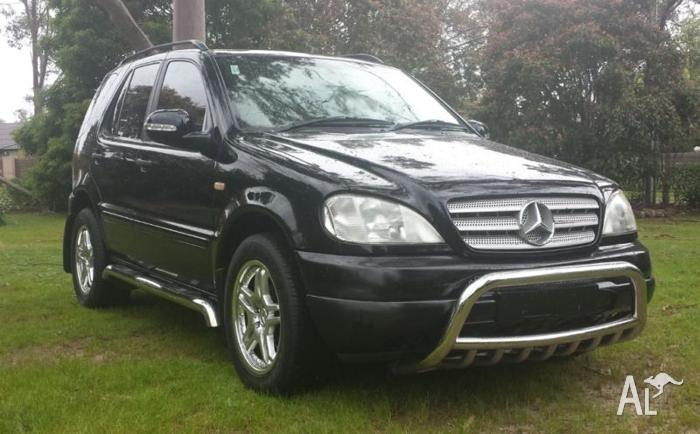 1999 mercedes benz ml320 7 seater 5speed auto for sale in for Mercedes benz 7 seater for sale