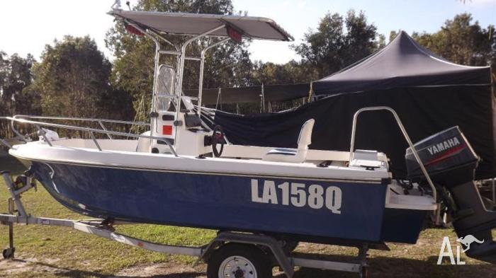 1999 Pro Line Centre Console Boat 4.8m 60hp 2002 Yamaha