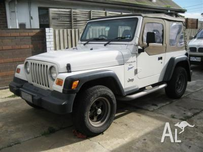 1999 Wrangler Jeep for sale in Narre Warren VIC for 9