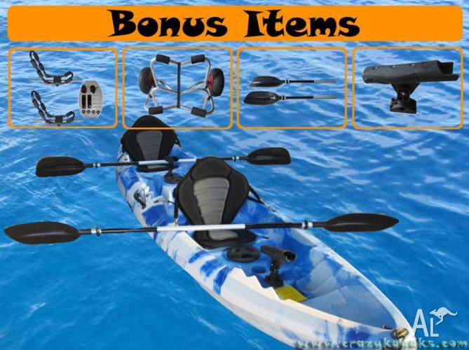 1, 2 or 3 Seater - Super Stable *Family Fun Kayak