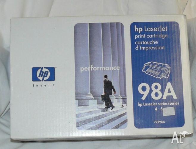 1 x HP 92298A Toner Cartridge 98A